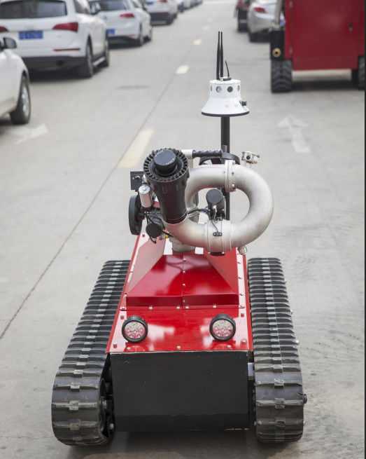 CE Approval Fire Rescue Equipment /  Fire Fighting Robot Working Time 5h